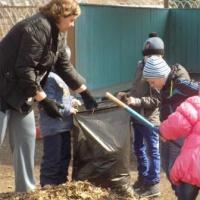 Фотоотчет «Активные помощники природы»