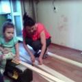 Мастер класс по изготовлению корпуса напольной ширмы для кукольного театр в ДОУ.