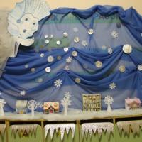 Новый год в детском саду. Оформление группы