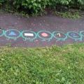 Летнее оформление детской площадки (фотоотчет)
