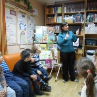 Фотоотчет «Первая экскурсия в детскую библиотеку»