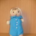 Самодельная куколка из колготок
