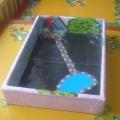 Макет «Птичий двор» для детей младшего дошкольного возраста