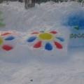 Участие в конкурсе «Зимние постройки»