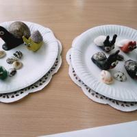 Фотоотчет о художественном творчестве детей по лепке «Улитка длинные рожки»
