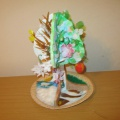 Мастер-класс по изготовлению дидактического пособия «Дерево «Времена года» из бросового материала