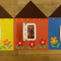 Мастер-класс поделки из бросового материала «Разноцветные домики»