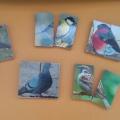 Дидактическая игра «Половинки» по теме дикие птицы