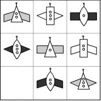 Конспект образовательной игровой ситуации с элементами ФЭМП в подготовительной группе «Космическая прогулка»