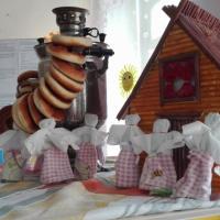 Фотоотчёт «Куклу Масленицу сотворю, добро и счастье подарю»