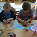 Фотоотчет о мастер-классе для совместной работы родителей и детей «Картина из шерсти»