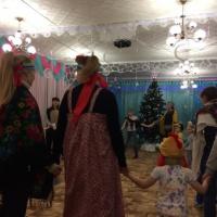 Детско-взрослое сообщество в средней группе «Приходила коляда»