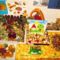 Конкурс–выставка детских творческих работ из природного материала «Осень золотая»