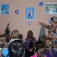 Фотоотчет о творческой мастерской «Зимняя сказка»