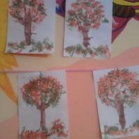 Конспект НОД по кляксографии «Осеннее дерево» в средней группе