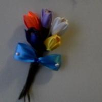 Мастер-класс «Крокусы из атласной ленты»