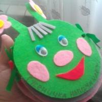 Мастер-класс по изготовлению книжки-малышки на экологический конкурс «Гусеничка напоминает»