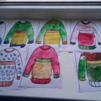 Конспект занятия по рисованию в средней группе «Украшение свитера»