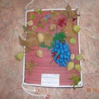 Мастер-класс по изготовлению поделки на осеннюю тему из природного материала «Виноградная лоза из желудей»