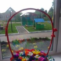 Мастер-класс «Корзина с цветами»