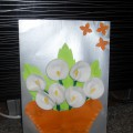 Мастер-класс по изготовлению открытки «Каллы для мамы»