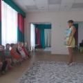 Фотоотчёт о развлечении на 8 Марта в первой младшей группе «Зелёная лужайка»
