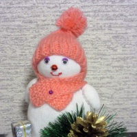 Фотоотчёт «Весёлый снеговик»