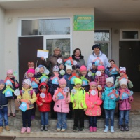 Фотоотчет «Экологический поход «Береги природу» с детьми старшей группы»