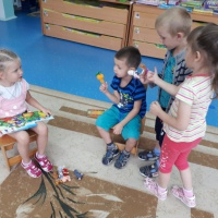Театрализованная деятельность— сказка «Репка»
