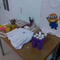 Мастер-класс для родителей «Рисование акриловыми красками по ткани»