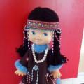 Кукла в чукотском национальном костюме
