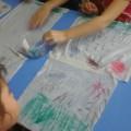 Конспект познавательного занятия с элементами изобразительной деятельности для детей старшей группы «Лето красное прошло»
