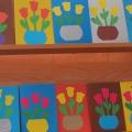 Открытое внеклассное занятие для воспитанников школы-интерната «Изготовление открытки к 8 марта»