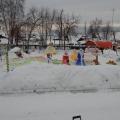 Снежный городок в нашем детском саду