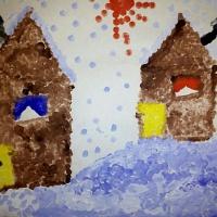 Фотоотчет о конкурсе детского рисунка на свободную тему «Пейзаж»