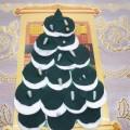 Мастер-класс «Елка-елочка, зеленая иголочка»