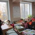Фотоотчёт об экскурсии в библиотеку
