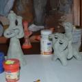 Конспект занятия для дошкольников и учащихся младшего и среднего школьного возраста «Роспись чернышенской игрушки»