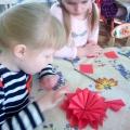 Фотоотчет о творчестве детей старшего дошкольного возраста «Корзина с цветами»