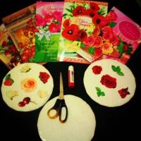 Мастер-класс по использованию старых открыток в детско-родительском творчестве «Украсим праздничный торт»