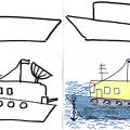 Мастер-класс. Рисование «Наша армия» с использованием образцов поэтапного рисования