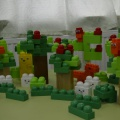 Выступление команды «Хранители леса» на лего фестивале «Зеленая планета»