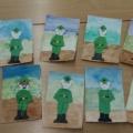 Мастер-класс по изготовлению праздничной открытки для папы к Дню защитника Отечества в технике оригами
