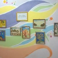 Фотоотчет о выставке детских творческих работ «Осень золотая в гости к нам пришла».
