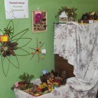 Фотоотчет о детско-родительской выставке осенних поделок «Чудесные превращения»