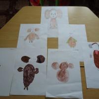 Конспект НОД по рисованию для детей старшей группы «Чебурашка»