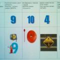 Развивающая игра для старших дошкольников математического содержания «Что за цифра»