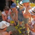 Картотека игр с водой и песком во второй младшей группе