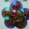 Мастер-класс «Новогодняя игрушка из дисков»