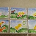 Конспект НОД по рисованию во второй младшей группе «Цыплята».